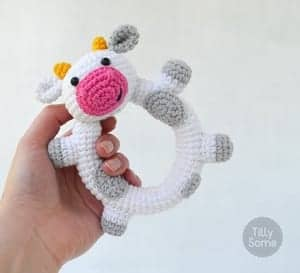 Baby Rattle Crochet Patterns – Cute Gifts - A More Crafty Life | 273x300