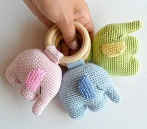 11 Free Crochet Elephant Patterns | 264x300