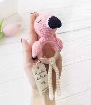 baby rattle Crochet Patterns - Cute Gifts - A More Crafty Life - baby blanket #crochet #crochetpattern #baby