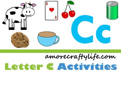 Letter C Activities - Preschool kid craft - amorecraftylife.com #preschool