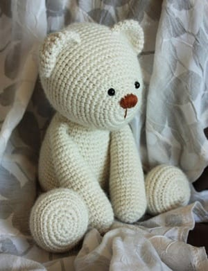 New crocheted amigurumiTeddy Bears | Crochet teddy bear pattern ... | 391x300