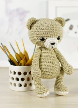Really Cute Free Crochet Teddy Bear Pattern - Crocht | 416x300