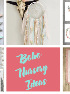 boho nursery ideas -tribal - girl nursery theme - amorecraftylife.com #baby #nursery #babygift