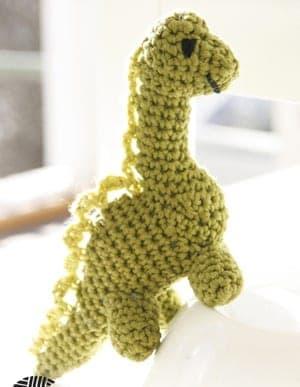 free dinosaur crochet pattern - free crochet pattern - amorecraftylife.com #crochet #crochetpattern #diy
