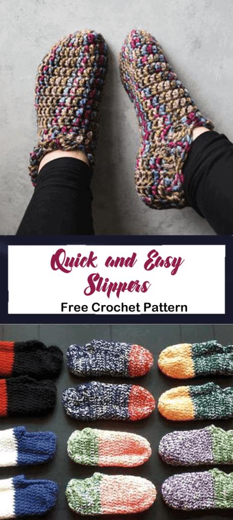 slippers free crochet pattern - pattern pdf - amorecraftylife.com #crochet #crochetpattern #freecrochetpattern