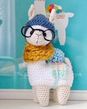 Llama Crochet Patterns – Amigurumi Tips - A More Crafty Life | 375x300