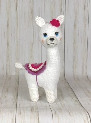 Llama Crochet Patterns – Amigurumi Tips - A More Crafty Life | 405x300