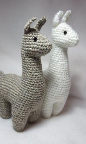 DIY Crochet Fluffy Alpaca Amigurumi Pattern PDF format | Etsy | 502x300