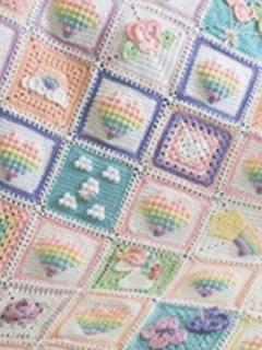 unicorn dreams free crochet pattern - baby blanket crochet pattern - amorecraftylife.com #baby #crochet #crochetpattern #freecrochetpattern