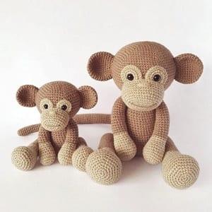 PATTERN Monkey Amigurumi Monkey pattern Crochet pattern | Etsy | 300x300