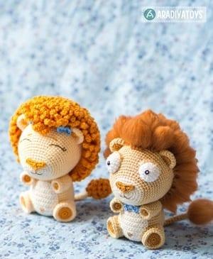 Amigurumi – Saroo the lion - crochet – tutorial | 365x300