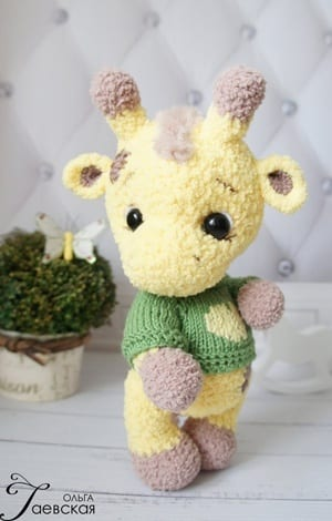 Giraffe Crochet Patterns -Amigurumi Tips - A More Crafty Life | 470x300