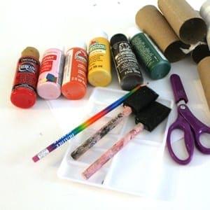 fingerprint Fall tree Kid Craft- easy autumn kid craft - amorecraftylife.com #kidscrafts #craftsforkids #preschool