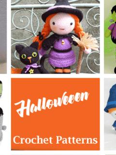 Halloween crochet patterns- fall crochet pattern- amorecraftylife.com #crochet #crochetpattern #diy #halloween