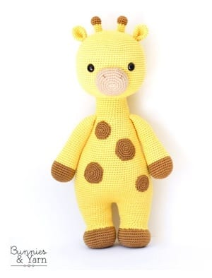 Crochet Giraffe Patterns You'll Love To Make -The WHOot | 394x300