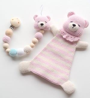 Cute teddy bear comforter comfort blanket boy girl unisex present ... | 328x300