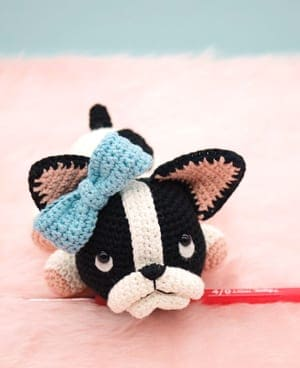 Amigurumi Little Dog Crochet Free Patterns - Crochet & Knitting | 368x300