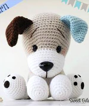 Amazon.com: Dog crochet PATTERN , Amigurumi dog toy , pdf English ... | 354x300