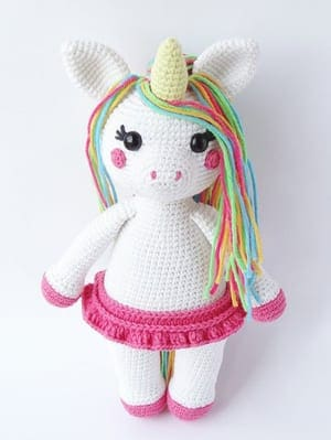 Baby unicorn amigurumi pattern - Amigurumi Today | 399x300