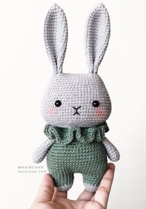 White bunny from Amigurumi Cuties | Amigurumi bunny | lilleliis | 429x300