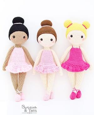 Amigurumi Doll Free Pattern | 369x300