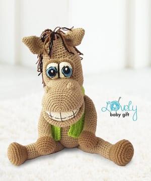 11 Crochet Horse Patterns – Amigurumi Pony Toys - A More Crafty Life | 359x300