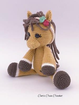 Crocheted Amigurumi Horse Toys Full Body Stock Photo (Edit Now ... | 397x300