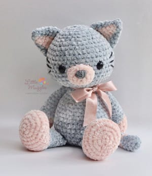 Chisai Kitten (Chibi Amigurumi Kitty Cat Plush) by Sylemn on ... | 348x300