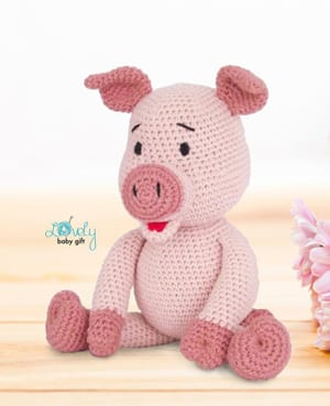 Amigurumi Pig free crochet pattern   Asmi Handmade   369x300