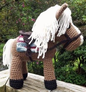 CROCHET PATTERN for Pretty Crochet Horse Pretty Pony Crochet | Etsy | 322x300