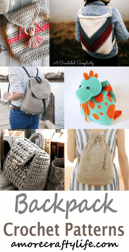 Patch Backpack Free Crochet Pattern ⋆ Crochet Kingdom | 822x420