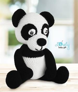 New Pattern: Panda Hat | Crochet panda, Crochet character hats ... | 353x300