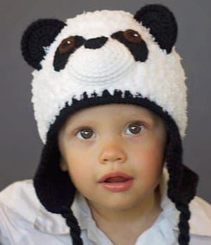 crochet panda pattern- panda bear pattern hat pattern crochet pattern pdf - amigurumi amorecraftylife.com #crochet #crochetpattern