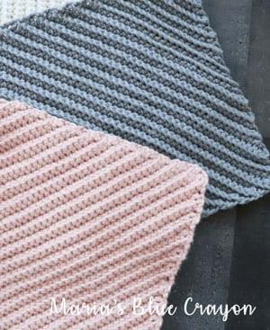 free crochet dishcloth crochet patterns -amorecraftylife.com #crochet #crochetpattern #diy #freecrochetpattern