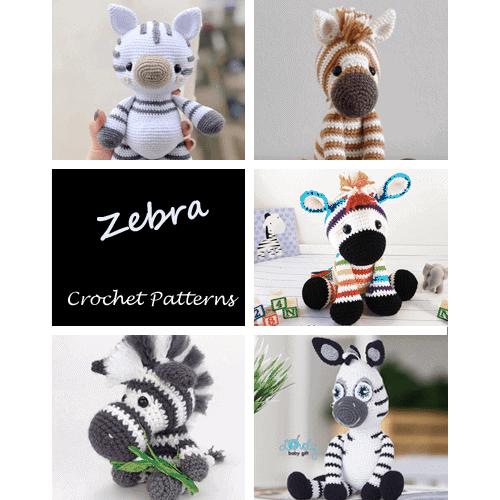 Small Zebra amigurumi pattern - Amigurumipatterns.net | 500x500