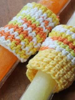 ice pop holder crochet pattern - free crochet pattern #crochet