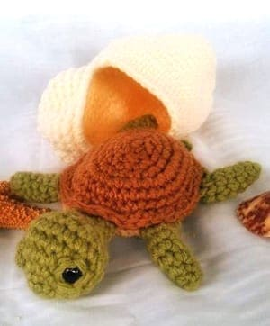 Crochet Turtle PATTERN Amigurumi pattern Turtle pdf tutorial | Etsy | 362x300