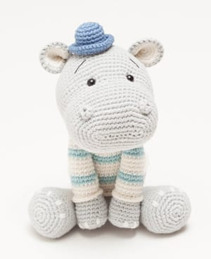 9 Cute Crochet Hippo Patterns - Amigurumi Tips - A More Crafty Life | 368x300