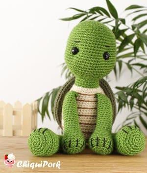 Amigurumi Turtle Free Pattern | Crochet turtle, Crochet patterns ... | 354x300