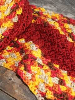 autumn sunset scarf crochet pattern - sedge stitch - amorecraftylife.com #crochet #crochetpattern #freecrochetpattern