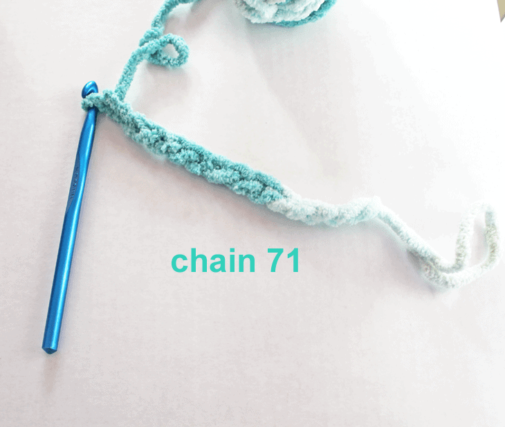 how to crochet a blanket - bernat baby blanket yarn #crochet #crochetblanketpattern
