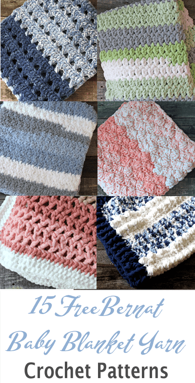 chunky crochet blanket pattern free - Bernat Baby Blanket Yarn - amorecraftylife.com -crocheted afghan - free crochet pattern #crochet #crochetpattern #freecrochetpattern #crochetblanketpattern
