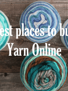 best places to buy yarn online - where to buy yarn online- knitting and crochet -amorecraftylife.com #crochet