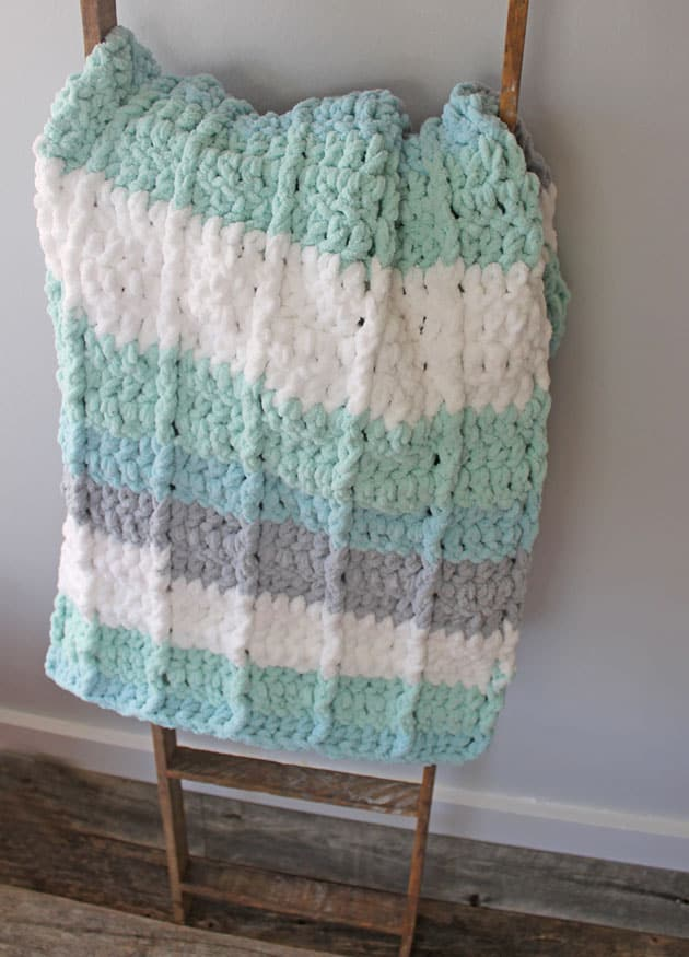 This image has an empty alt attribute; its file name is seafoam-double-crochet-baby-blanket-pattern-free-630.jpg