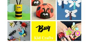 Make fun bug crafts for kids - insect kid craft amorecraftylife.com #kidscrafts #craftsforkids #preschool