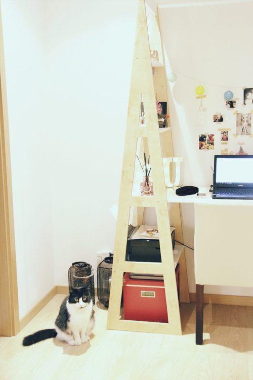 new workspace inspiration DIY shell secretary by guigz