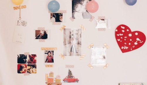 photo wall diy new workspace DIY