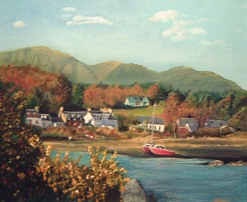 Plockton - Oils - SOLD