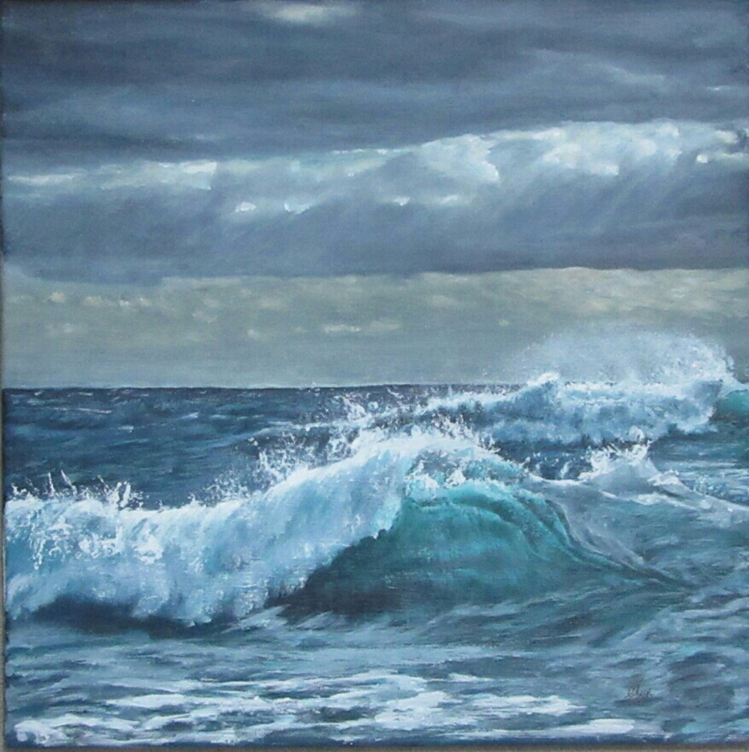 The Storm Breaks - SOLD