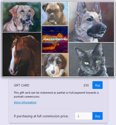 Gift Card Amosartworks